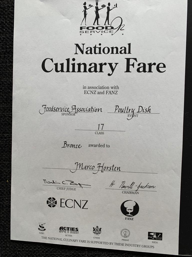 National Culinary Fare