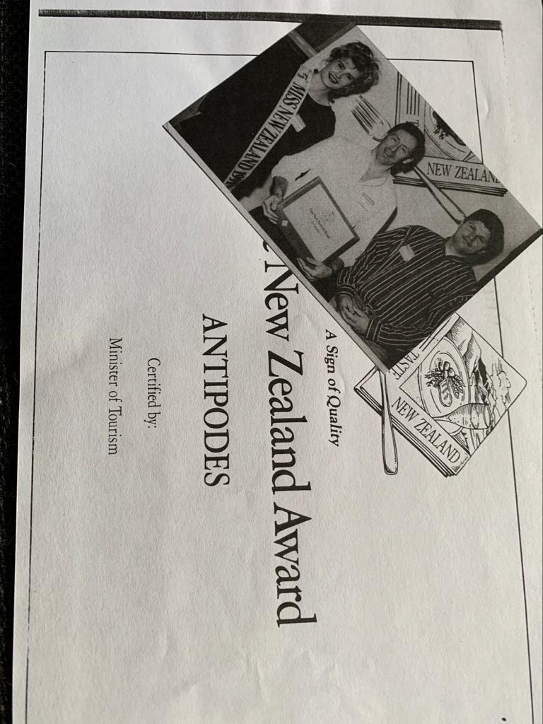 New Zealand Award